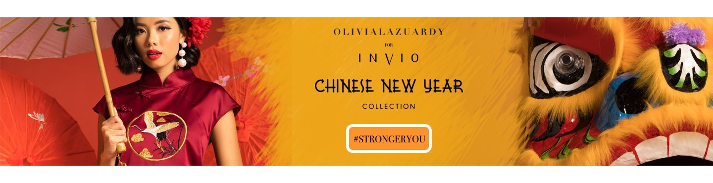 INVIO X Olivia Lazuardy : Chinese New Year Collection